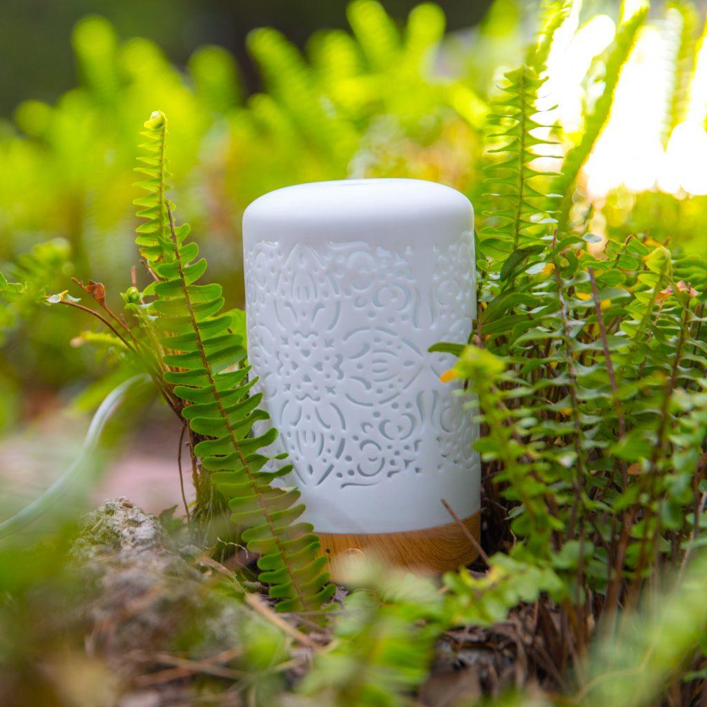 典雅陶瓷香氛水氧機
